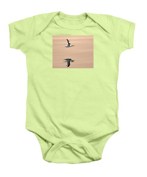 Late Arrival Baby Onesie by Tony Beck