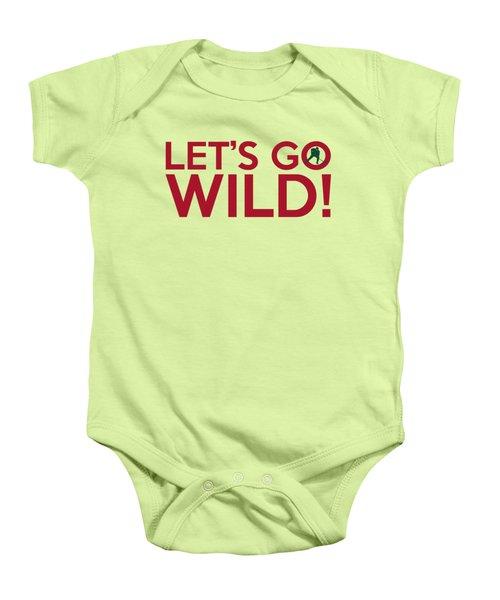 Let's Go Wild Baby Onesie by Florian Rodarte