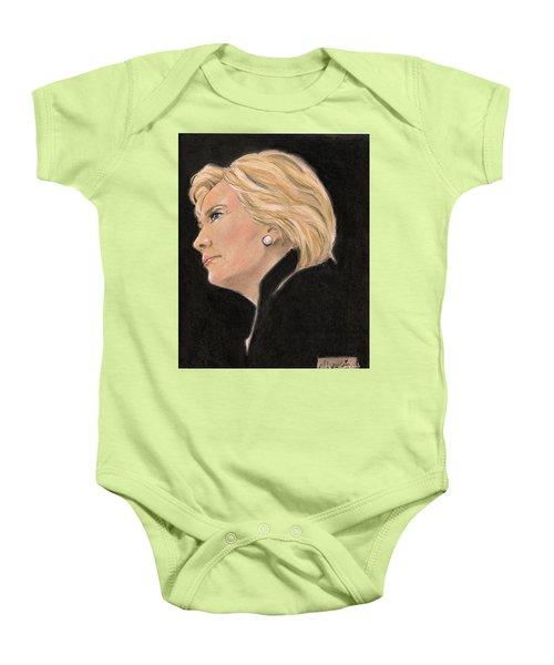 Madame President Baby Onesie by P J Lewis