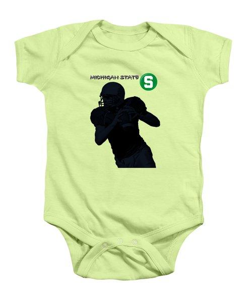 Michigan State Football Baby Onesie by David Dehner