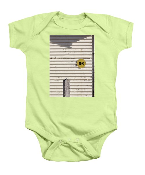 Baby Onesie featuring the photograph Number 66 by Linda Lees