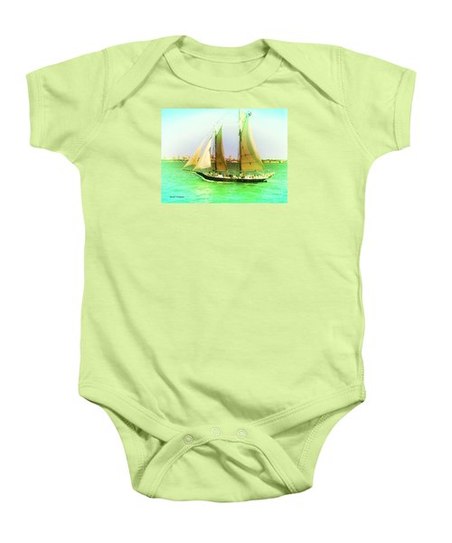 Nyc Sailing Baby Onesie