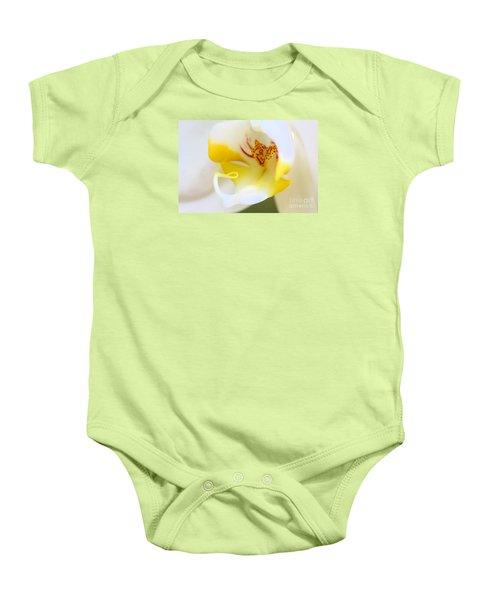 Orchid Macro Baby Onesie