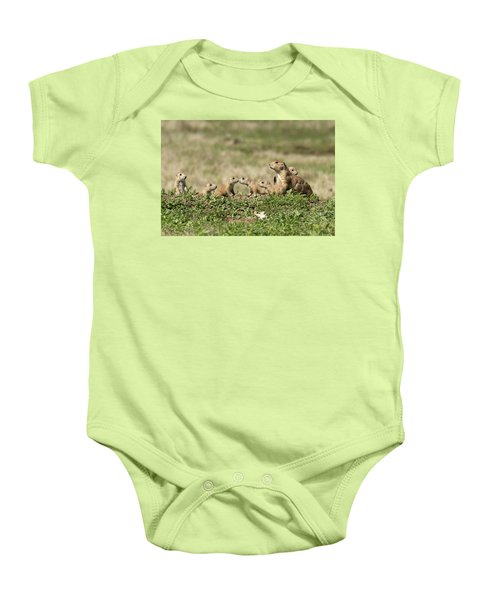 Prairie Dog Family 7270 Baby Onesie