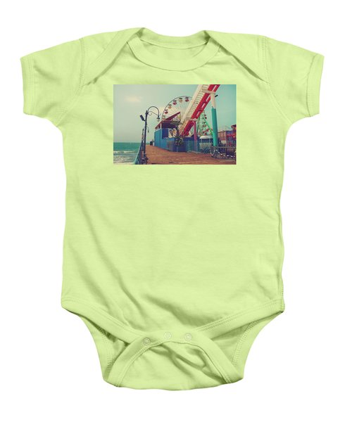 Ride It Out Baby Onesie