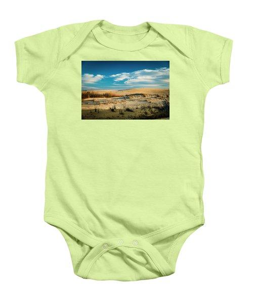 Rolling Sand Dunes Baby Onesie