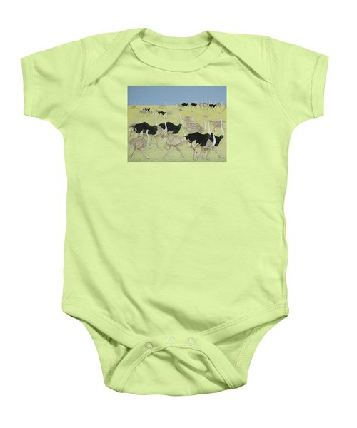 Rush Hour Baby Onesie by Pat Scott