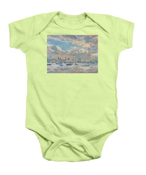 Sail Regatta On The Ij Baby Onesie