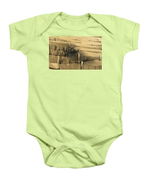 Sand Dunes Of The Outer Banks Baby Onesie