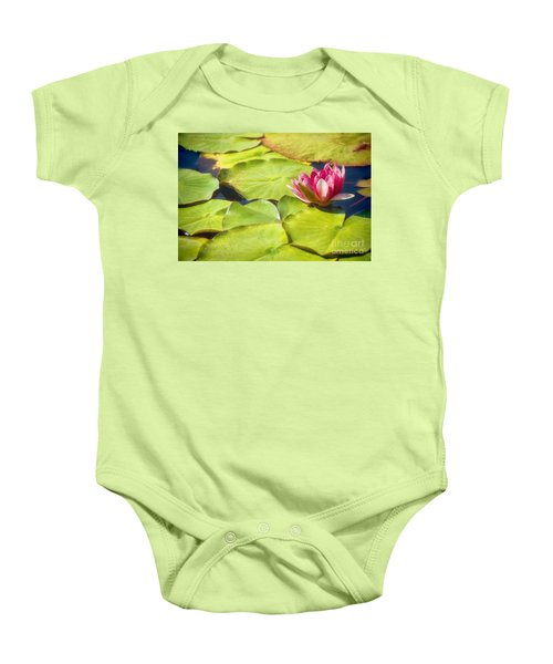 Serenity And Solitude Baby Onesie