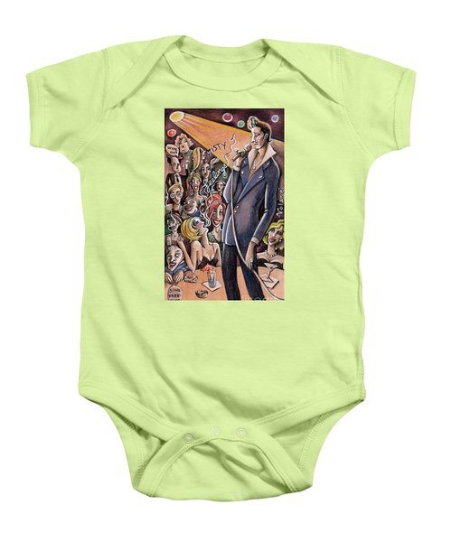 Singing Standards Baby Onesie