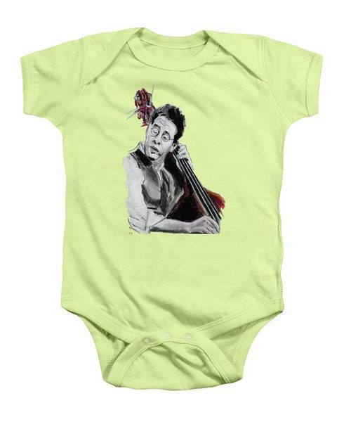 Stanley Clarke Baby Onesie