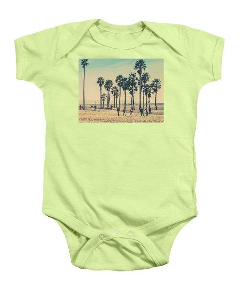 Stroll Down Venice Beach Baby Onesie