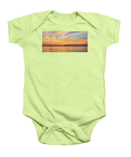 Baby Onesie featuring the photograph Sunrise And Splendor by Bill Pevlor