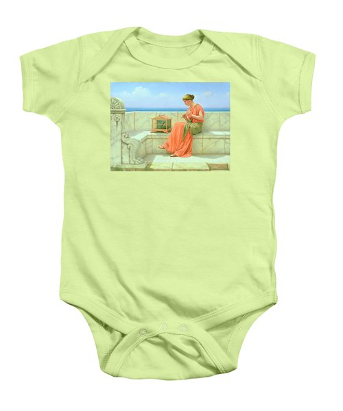 Sweet Sounds Baby Onesie by John William Godward