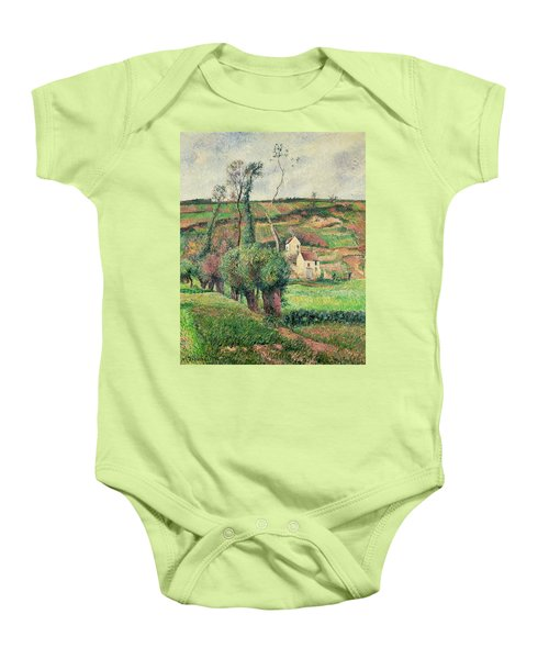 The Cabbage Slopes Baby Onesie by Camille Pissarro