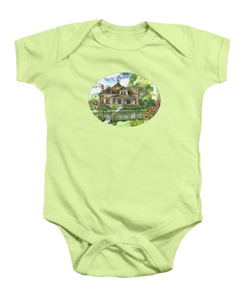 The House On Spring Lane Baby Onesie