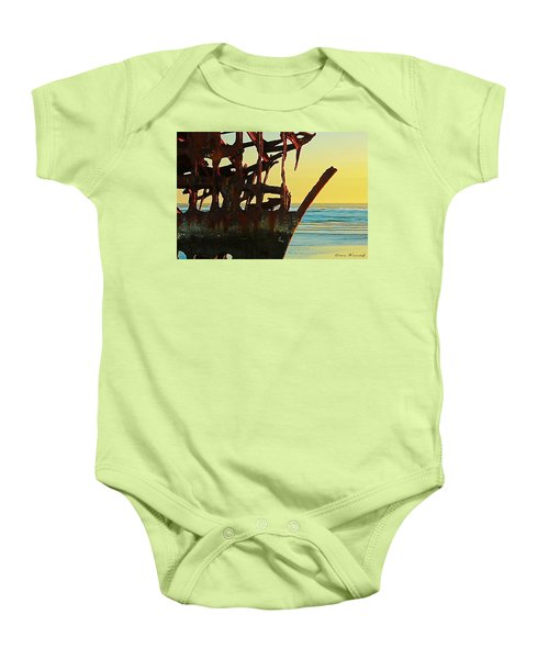The Peter Iredale 4 Baby Onesie