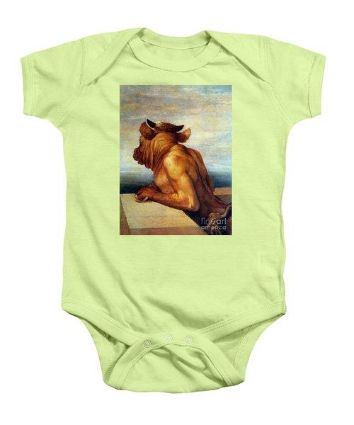 Watts: The Minotaur Baby Onesie