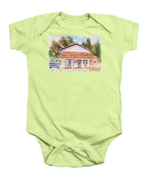 Woodcock Insurance In Watercolor  W406 Baby Onesie