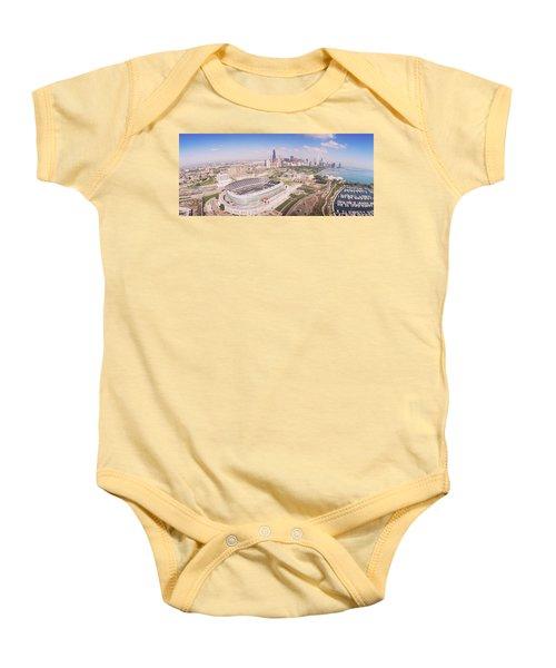 Aerial View Of A Stadium, Soldier Baby Onesie