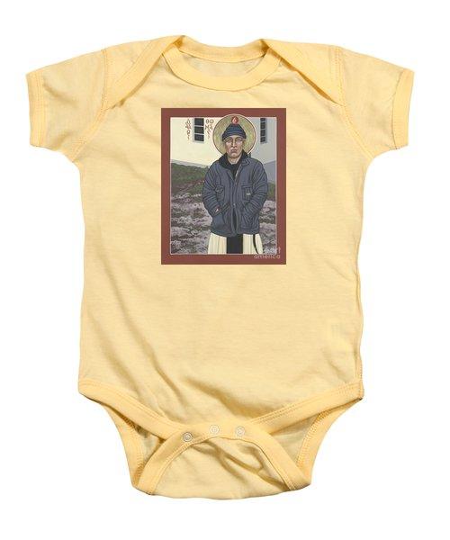 Holy World Evangelist Thomas Merton 267 Baby Onesie