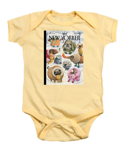 New Yorker February 8th, 2010 Baby Onesie