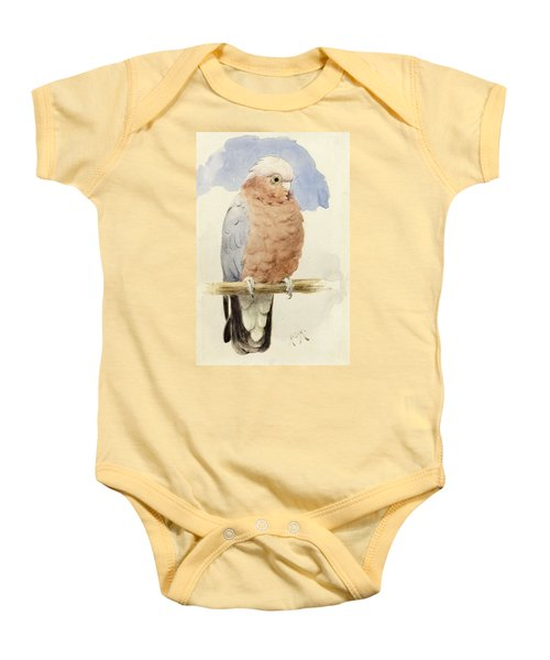 A Rose Breasted Cockatoo Baby Onesie