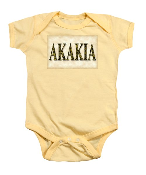 Acacia - Parchment Baby Onesie by Stephen Younts