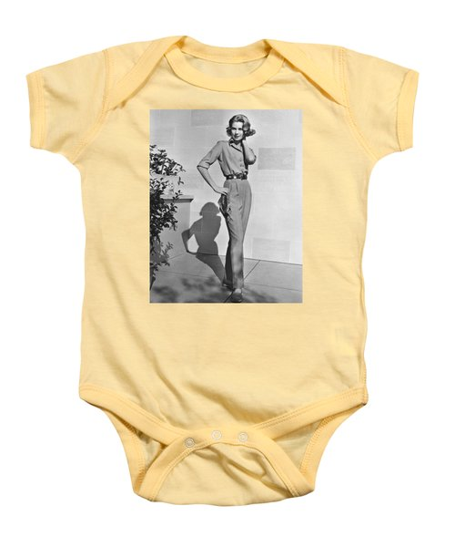 Actress Grace Kelly Baby Onesie by Underwood Archives