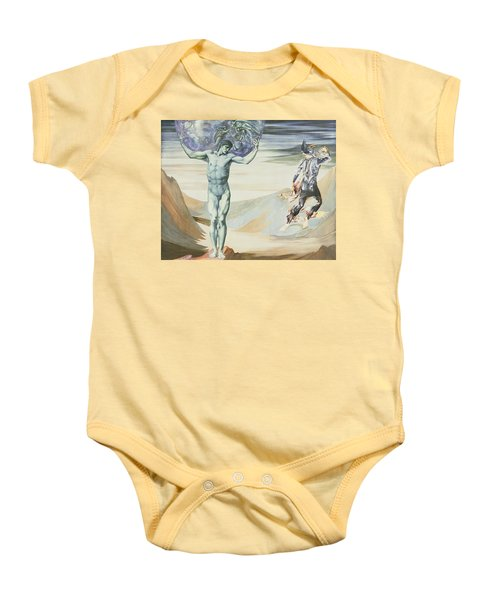 Atlas Turned To Stone, C.1876 Baby Onesie by Sir Edward Coley Burne-Jones