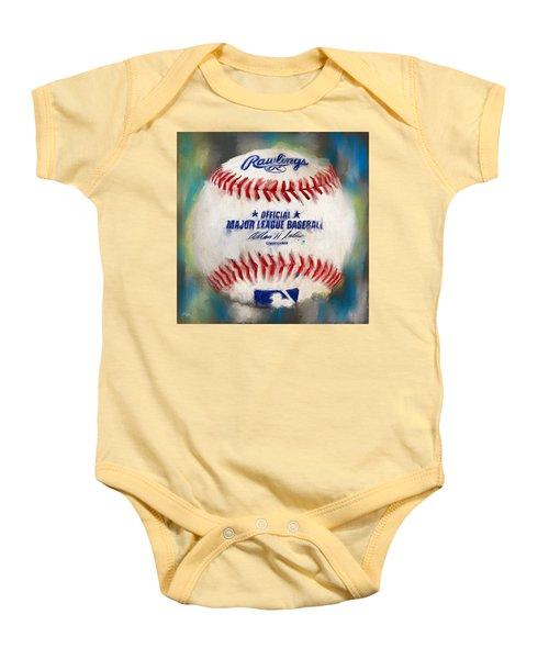 Baseball Iv Baby Onesie