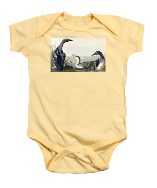 Black Throated Diver  Baby Onesie