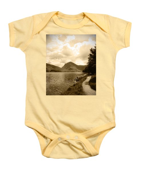 Buttermere Bright Sky Baby Onesie by Kathy Spall
