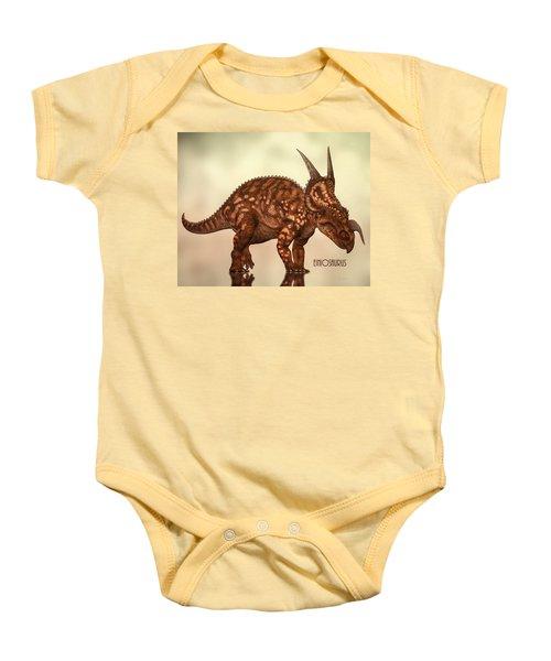 Einiosaurus Baby Onesie