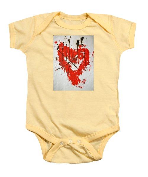 Heart Flash Baby Onesie