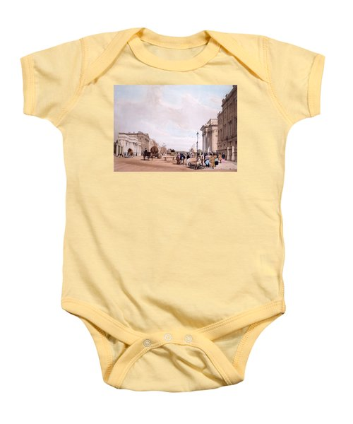 Hyde Park Corner, Looking Baby Onesie by Thomas Shotter Boys