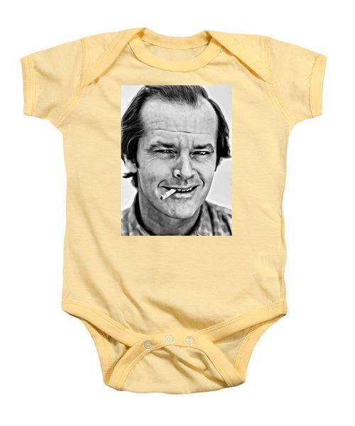 Jack Nicholson Baby Onesie