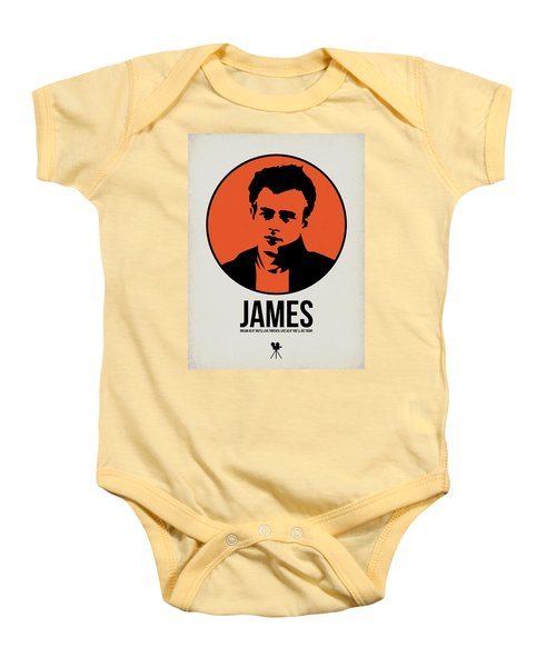 James Poster 1 Baby Onesie by Naxart Studio