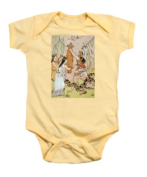 Jason Seizing The Golden Fleece Baby Onesie