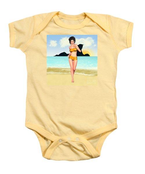 Jogging Miriam Baby Onesie