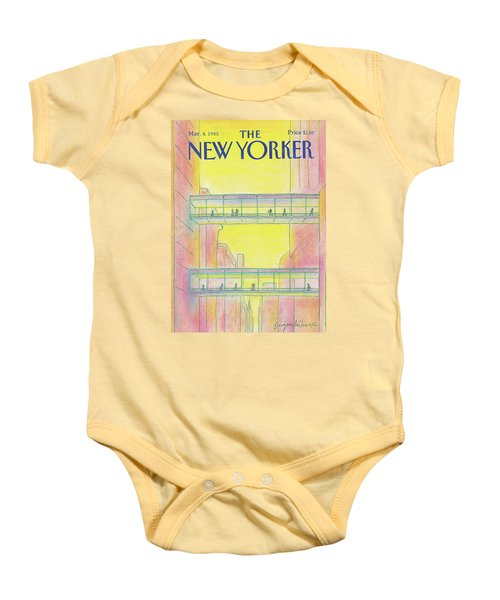 New Yorker March 4th, 1985 Baby Onesie