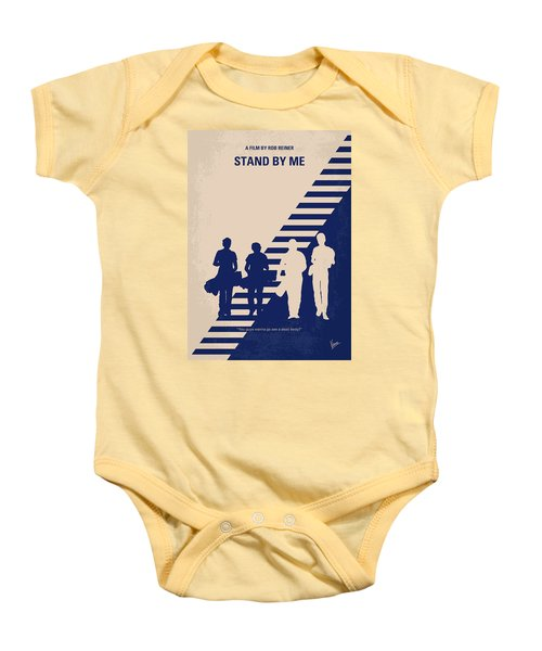 No429 My Stand By Me Minimal Movie Poster Baby Onesie