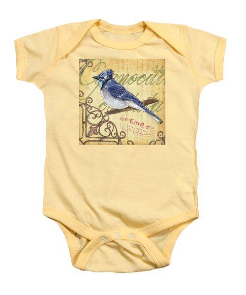 Pretty Bird 4 Baby Onesie by Debbie DeWitt