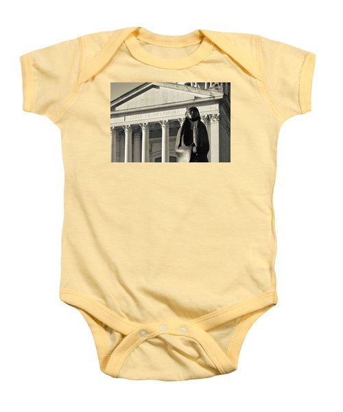 Sculpture Of Native American Baby Onesie by Panoramic Images