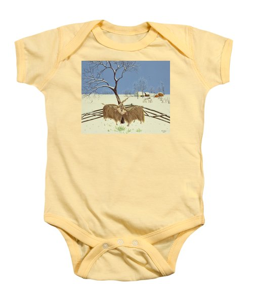 Spring In Winter Baby Onesie by Magdolna Ban
