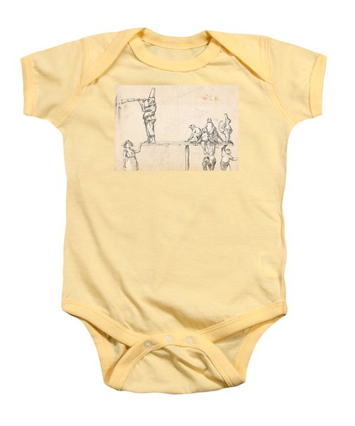 The Captain Baby Onesie by H James Hoff