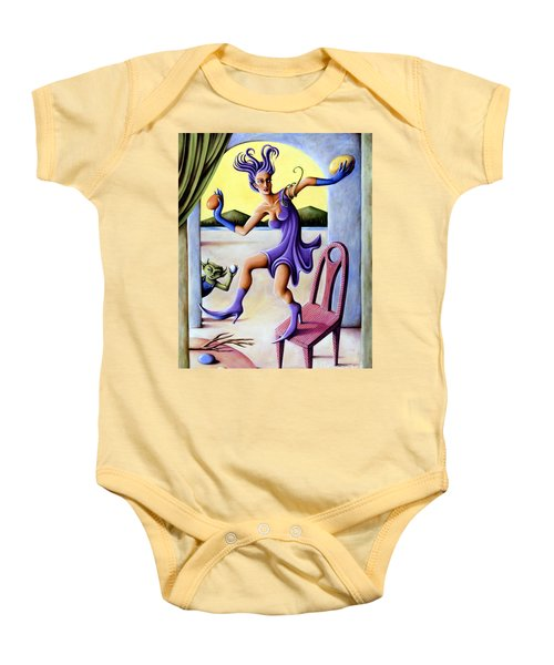 The Egg Show Baby Onesie