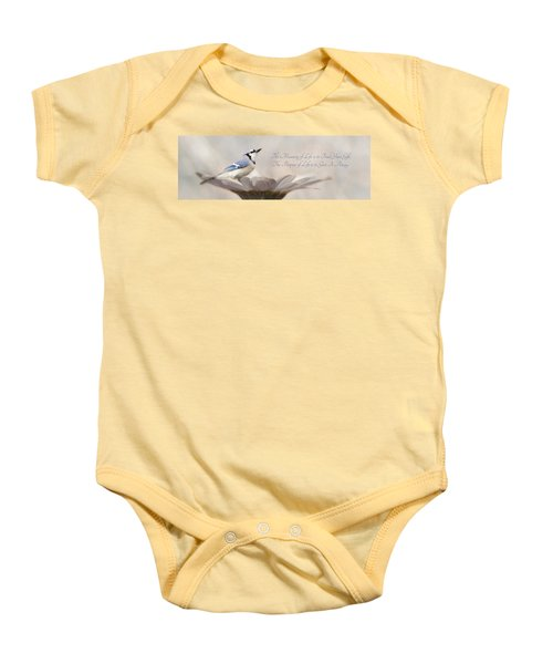 The Meaning Of Life Baby Onesie