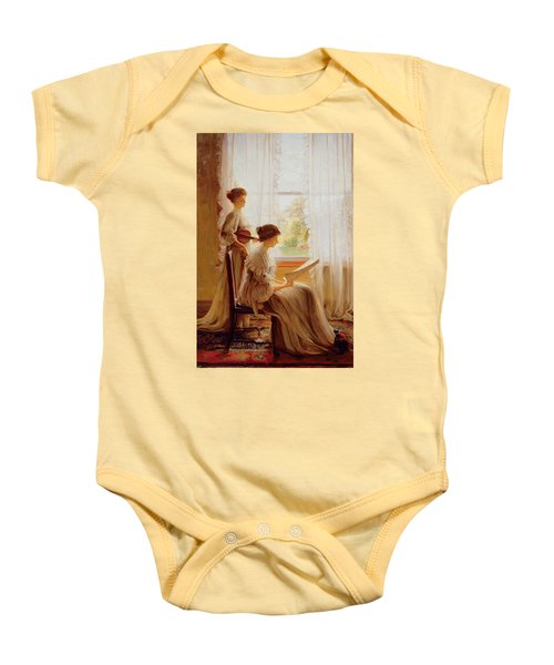 The Music Lesson, C.1890 Baby Onesie